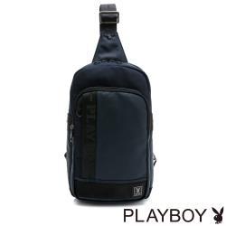 PLAYBOY - 單肩背包 Navy系列 - 藍色
