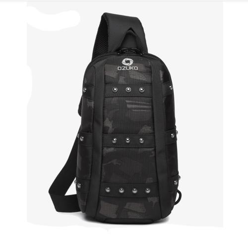 個性防盜單肩側背包