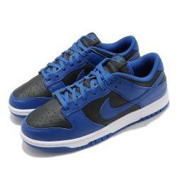 Nike 休閒鞋 Dunk Low Retro 男女鞋 經典款 皮革 簡約 情侶穿搭 球鞋 藍 黑 DD1391001 [ACS 跨運動]