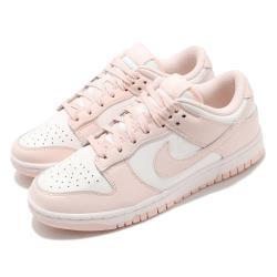 Nike 休閒鞋 Dunk Low 運動 女鞋 經典款 皮革 簡約 舒適 球鞋 穿搭 粉 白 DD1503102 [ACS 跨運動]