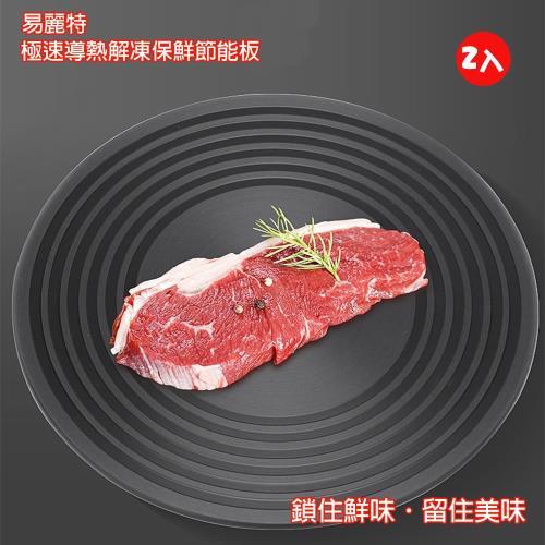 【易麗特】極速導熱解凍保鮮節能板(2入)/