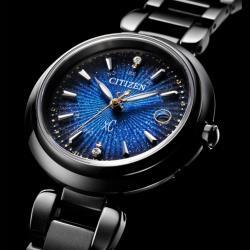 CITIZEN星辰 ES9466-57L 電波對時 鈦金屬星空時尚腕錶