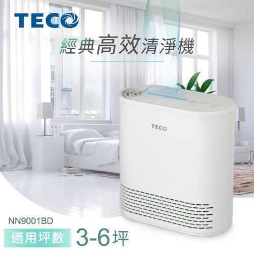 TECO東元 經典高效空氣清淨機(適用3-6坪) NN9001BD