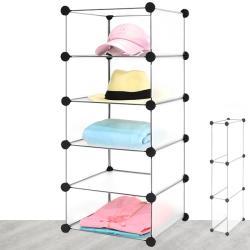 五層5格DIY透明收納櫃
