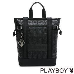 PLAYBOY - 托特後背包 Beyond系列 - 黑色
