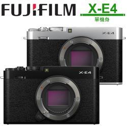 FUJIFILM X-E4 單機身 公司貨.