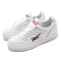 Asics 休閒鞋 Skycourt 復古 低筒 男女鞋 亞瑟士 基本款 虎爪紋 LOGO 情侶鞋 白 紅 1201A089101 [ACS 跨運動]