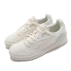 Asics 休閒鞋 Skycourt 復古 低筒 女鞋 亞瑟士 基本款 虎爪紋 LOGO 燈心絨 白 綠 1202A133100 [ACS 跨運動]