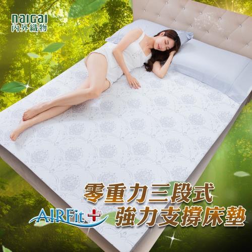 內外織物人體工學減壓支撐床墊重磅回鐀-雙/