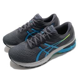 Asics 慢跑鞋 GT-2000 9 Wide 寬楦 男鞋 亞瑟士 支撐型 減震 柔軟 穩定 灰 藍 1011A984022 [ACS 跨運動]