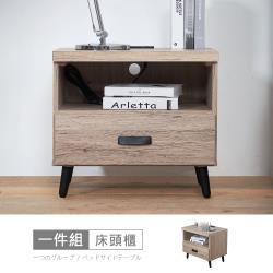 【時尚屋】[CW20]亞曼達1.8尺床頭櫃CW20-T74-免運費/免組裝/床頭櫃