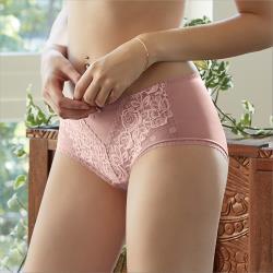 【曼黛瑪璉】Hibra大波 低腰平口內褲(藕粉)