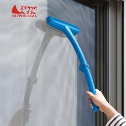 日本Nippon Seal 超細纖維除汙折疊式紗窗清潔刷