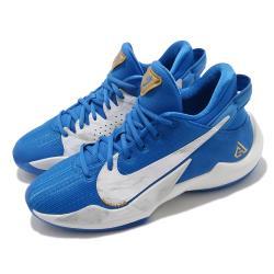 Nike 籃球鞋 Freak 2 SE 運動 女鞋 明星款 字母哥 避震 包覆 運動 球鞋 藍 白 CZ4177408 [ACS 跨運動]