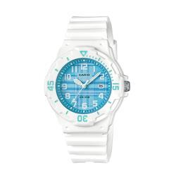 【CASIO 卡西歐】潛水風格-學生/青少年指針錶_鏡面3.4公分(LRW-200H-2C)