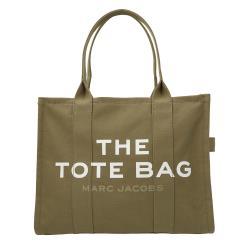 Marc Jacobs Traveler 大款帆布手提肩背旅行托特包 石灰綠 M0016156-372