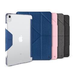 JTL / JTLEGEND iPad Air 2020 Amos 10.9吋 相機快取多角度折疊布紋皮套(有Apple pencil磁扣_無筆槽)