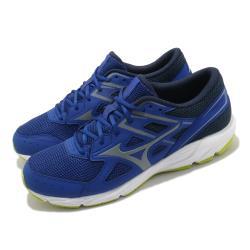 Mizuno 慢跑鞋 Spark 6 運動 男鞋 美津濃 輕量 透氣 舒適 避震 路跑 藍 白 K1GA210340 [ACS 跨運動]