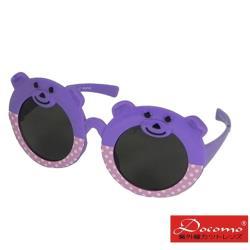 【Docomo】抗UV大兒童太陽眼鏡 可愛造型框體 配戴舒適不夾臉 MIT台灣製造款