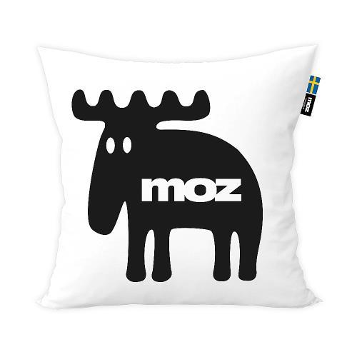 moz瑞典 北歐風雙面抱枕套(經典LOGO)