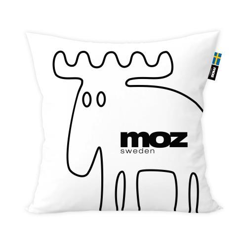 moz瑞典 北歐風雙面抱枕套(原創線條)