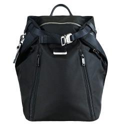 TUMI ALPHA BRAVO GRANT系列14吋筆電前扣式延展後背包(黑)