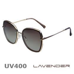 Lavender 偏光片太陽眼鏡 名媛時尚款 焦糖褐 8080 C5