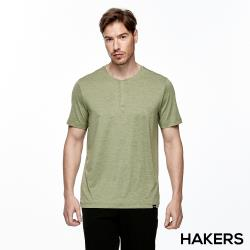 【HAKERS 哈克士】男 抗UV吸溼排汗上衣(二色)