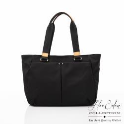 DF Flor Eden -日系簡約配真皮便利手提肩背包
