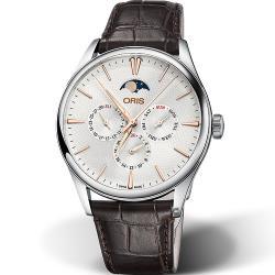 ORIS 豪利時 Artelier系列月相盈虧機械錶(0178177294031-0752165FC)40mm