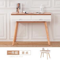 【時尚屋】[VRZ8]芬蘭3.3尺書桌-免運費/免組裝/書桌