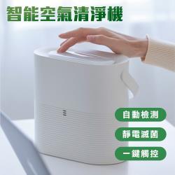 智能空氣淨化器 家用靜電殺菌空氣清淨機(USB充電)