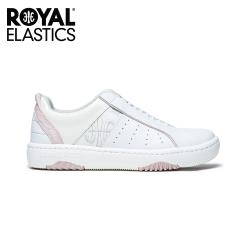 Royal Elastics-(女)ICON2.0X 粉白真皮運動休閒鞋  96312-001