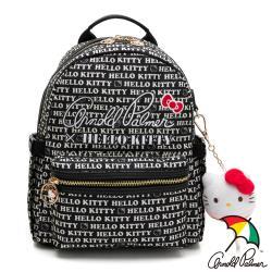 Kitty聯名- 後背包 LOLLIPOP GIRL棒棒糖女孩系列-黑色
