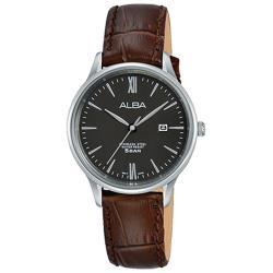 【ALBA】送禮首選 精緻淑女 石英錶 皮革錶帶 防水50米(AH7P05X1)