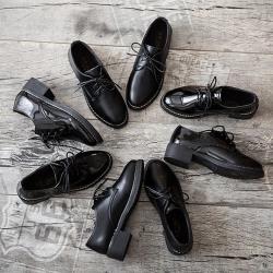 【Alice】時尚綁帶款牛津鞋(通勤鞋/休閒鞋)