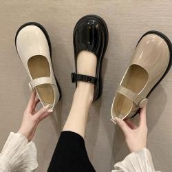 【Alice】韓國設計雨絲風片豆豆鞋(娃娃鞋)