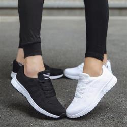 【WS】現+預 飛織透氣網面慢跑鞋(休閒鞋/運動鞋)