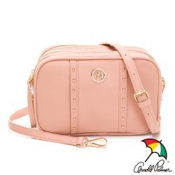 Arnold Palmer-斜背相機包 多色相機包系列-粉膚色
