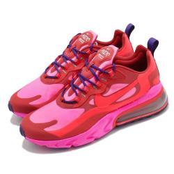 Nike 休閒鞋 Air Max 270 React 男鞋 海外限定 避震 包覆 舒適 球鞋 穿搭 紅 粉 AO4971600 [ACS 跨運動]