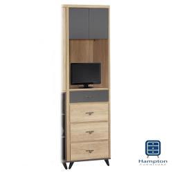 【Hampton 漢汀堡】斯凱拉漂流橡木色2尺多用途櫃