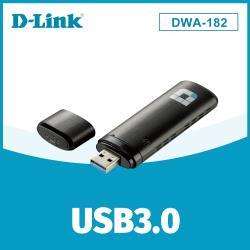 D-Link友訊 DWA-182 Wireless AC1300雙頻USB 無線網卡