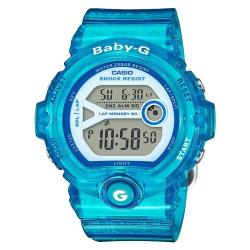 【CASIO卡西歐】BABY-G 繽紛嫩彩系 運動數字電子女錶 運動首選 耐衝擊構造 防水200米 LED燈(BG-6903-2BDR)