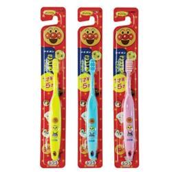 日本【Lion】卡通人物系列麵包超人兒童專用牙刷 (1.5~5歲)*3入