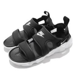 Nike 涼鞋 Owaysis Sandal 穿搭 女鞋 輕便 簡約 套腳 夏日 舒適 球鞋 黑 白 CK9283002 [ACS 跨運動]