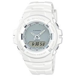 【CASIO卡西歐】G-SHOCK 雙顯 男錶 橡膠錶帶 防水200米(G-100CU-7A)
