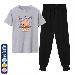 【韓國K.W.】(預購) 韓國設計甜心單品套裝褲