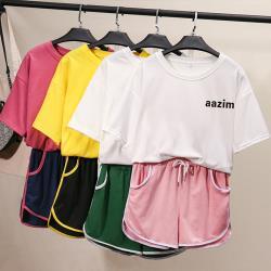 【韓國K.W.】(預購) 韓時尚輕甜女孩套裝褲
