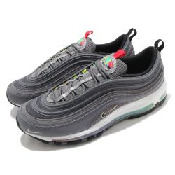 Nike 休閒鞋 Air Max 97 SE 運動 男鞋 經典款 彩色氣墊 舒適 反光 球鞋 穿搭 灰 彩 DA8857001 [ACS 跨運動]