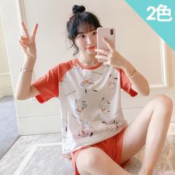 iima 冰淇淋狗狗棉質休閒衣褲組(2色)